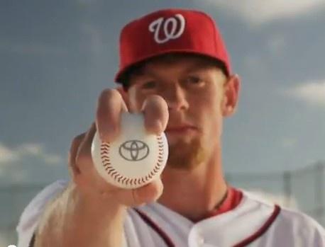 Toyota commercial with Washington Nationals Pitcher, Stephen Strasburg http://www.atlantatoyota.com/