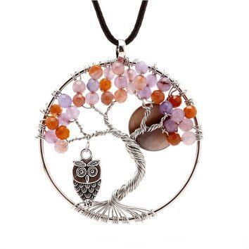 Natural Topaz Handmade Tree Pendant Necklace - The mangrove Owl And Moon It is easy to find great gifts for women under $50 when you know here to look. I have found so many cool, trendy and unique gift ideas for her online. You can find Home décor gifts, beauty gifts, jewelry gift ideas and fashion gifts all for under and under fifty dollars. In addition to being adorable these cool gifts under $50 Dollars for her are popular, charming and cute!