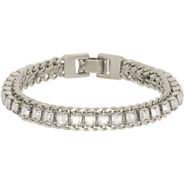 Henri Bendel Delicate Girlfriend Bracelet (£63) ❤ liked on Polyvore featuring jewelry, bracelets, henri bendel bangle, henri bendel jewelry and henri bendel
