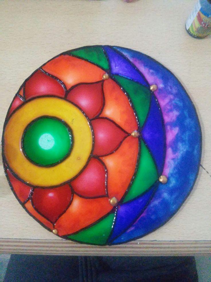 Natalia Richetti #Mandala #color #art #arte #meditacion #loto