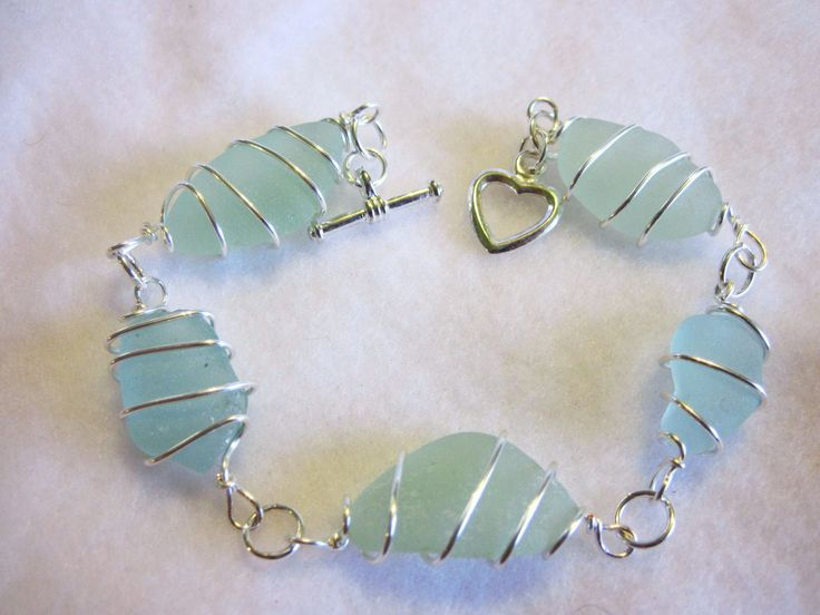 seaglass | SALE Sea Glass Jewelry, Sea Glass Bracelet, Sea Foam Sea Glass, Bangle ...