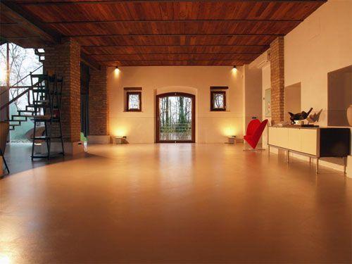 92 best Estrich images on Pinterest Cement floors, Flooring and - interieur bodenbelag aus beton haus design bilder