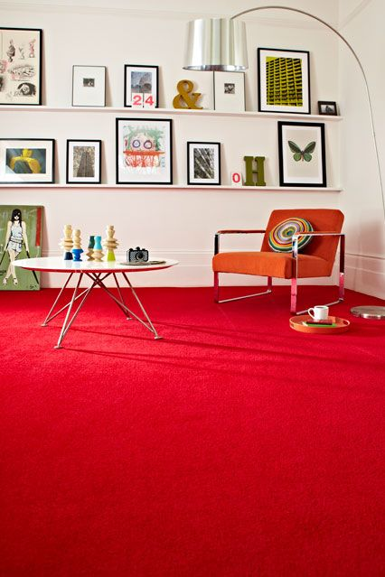 Living Room Design Ideas With Red Carpet