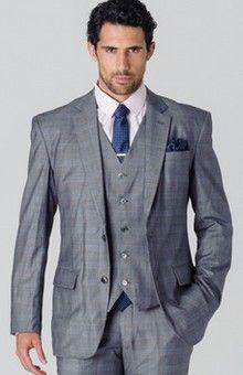 Costume prince-de-Galles gris