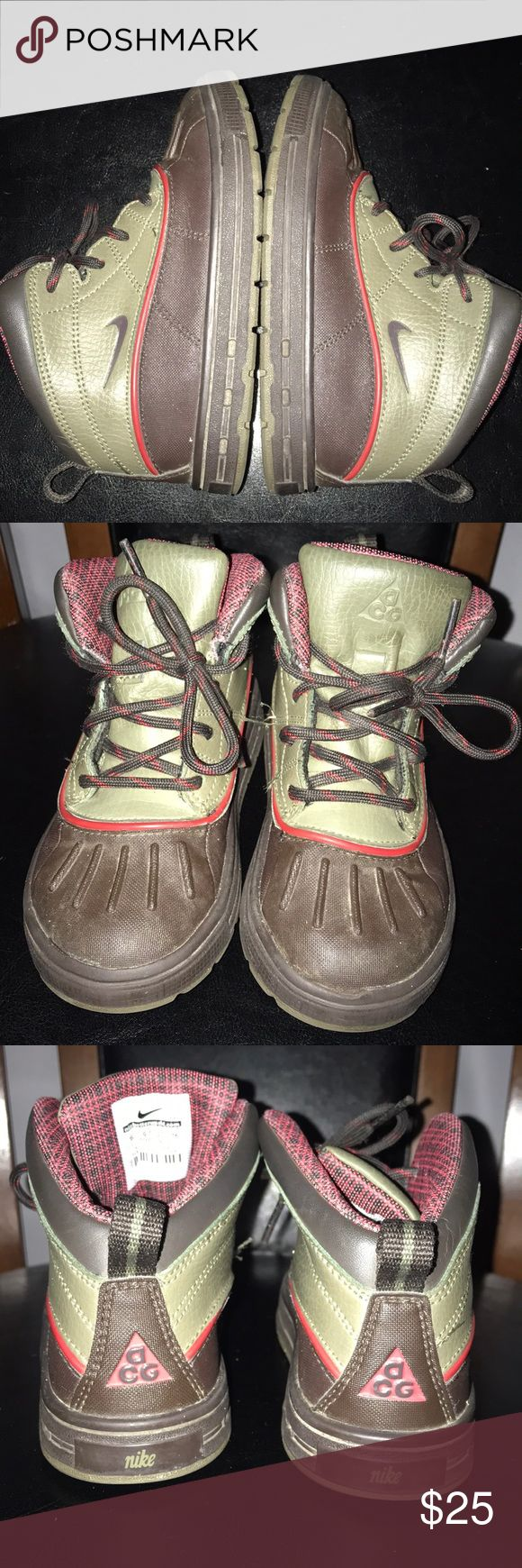Kids AGC Nike Boots Size 10 Used Nike Boots in good shape. Nike ACG Shoes Boots