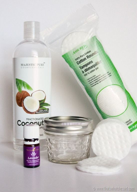 How to make your own eye make up remover pads at thatswhatchesaid.com                                                                                                                                                     More