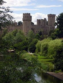 Warwick Castle and the River Avon, UK not far from Nans.Loved bringing the kids there to see my favorite castle when I was a child.