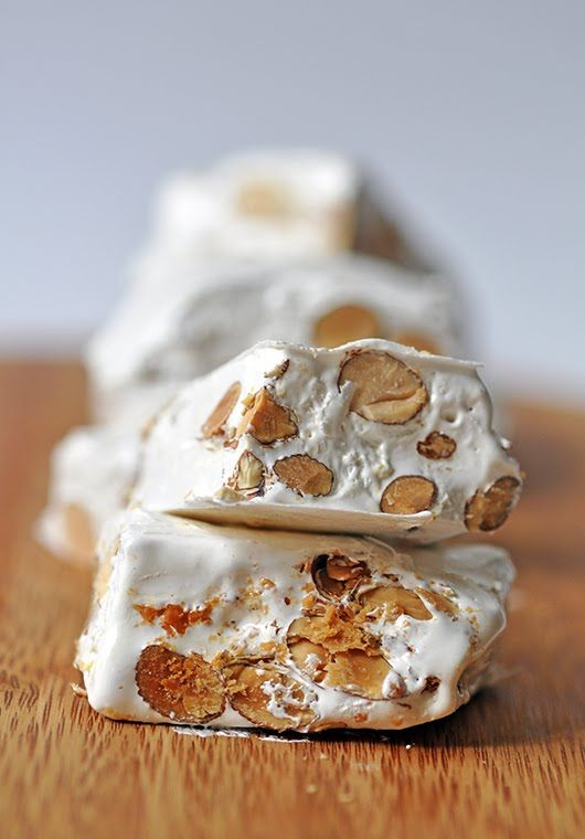 mmmm nougat. Make your own Big Hunk!!! MY FAVORITE CANDY! I hope this is for reals!