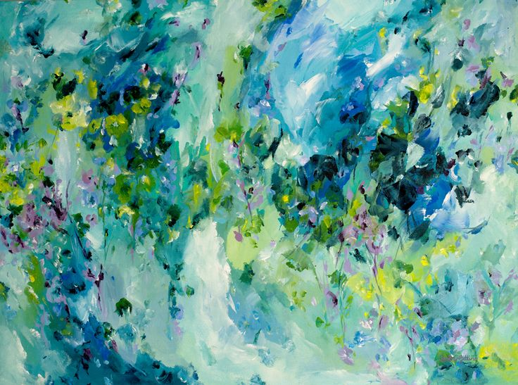 """""""Tranquility"""" by Amber Gittins. Paintings for Sale. Bluethumb - Online Art Gallery"""