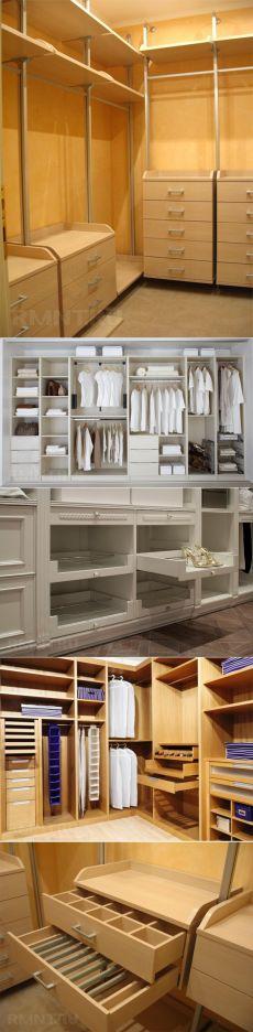 Решения для гардеробной — Наши дома
