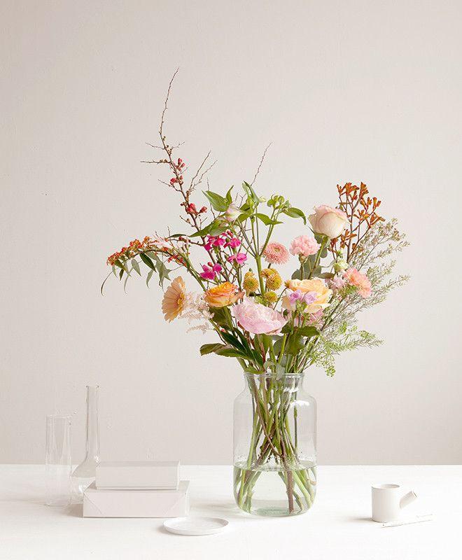 Bestel je bloemen