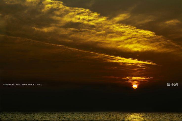 Paestum's Sunset - https://www.facebook.com/enea.mds