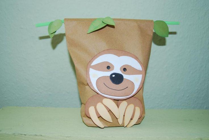Geschenk Verpacken Faultier Geschenke Verpacken Tiere