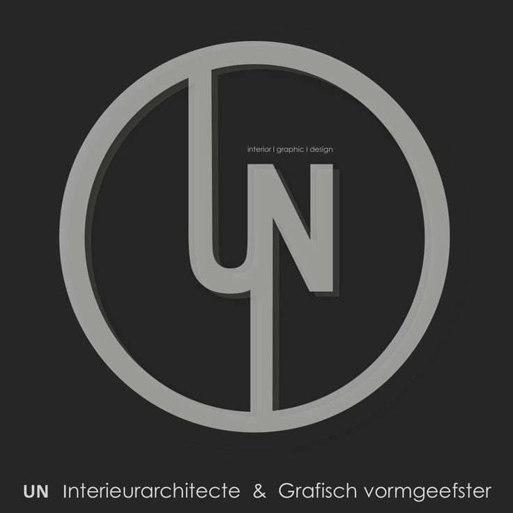 "Logo UN ""Interieurarchitecte & Grafisch vormgeefster"""