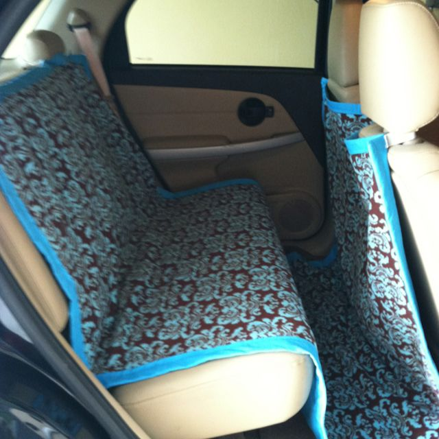 washable car seat and floor cover hopefully this helps prevent dog fur from getting in the carpet would probably work for kids