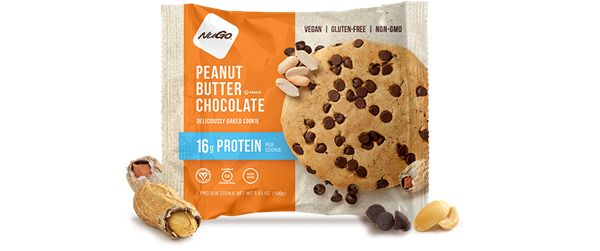 Deliciously baked with Peanut Buttery Goodness, Real Dark Chocolate Chips, and 16 grams of pea protein to satisfy your cookie craving! This vegan, gluten-free and non-GMO cookie does not contain soy, artificial sweeteners, palm oil or margarine.