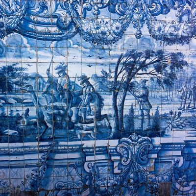148 best images about azulejos portugueses portuguese tile on pinterest church portuguese - Azulejos martin ...