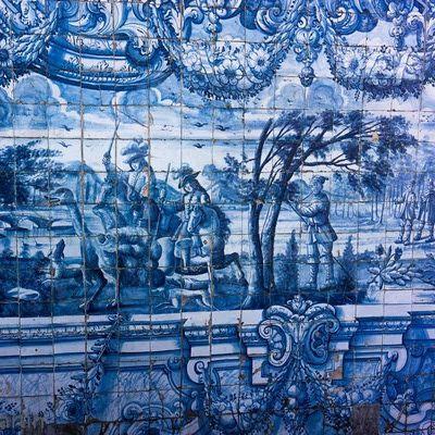 148 best azulejos portugueses portuguese tile images on pinterest portuguese tiles mosaics - Azulejos martin ...