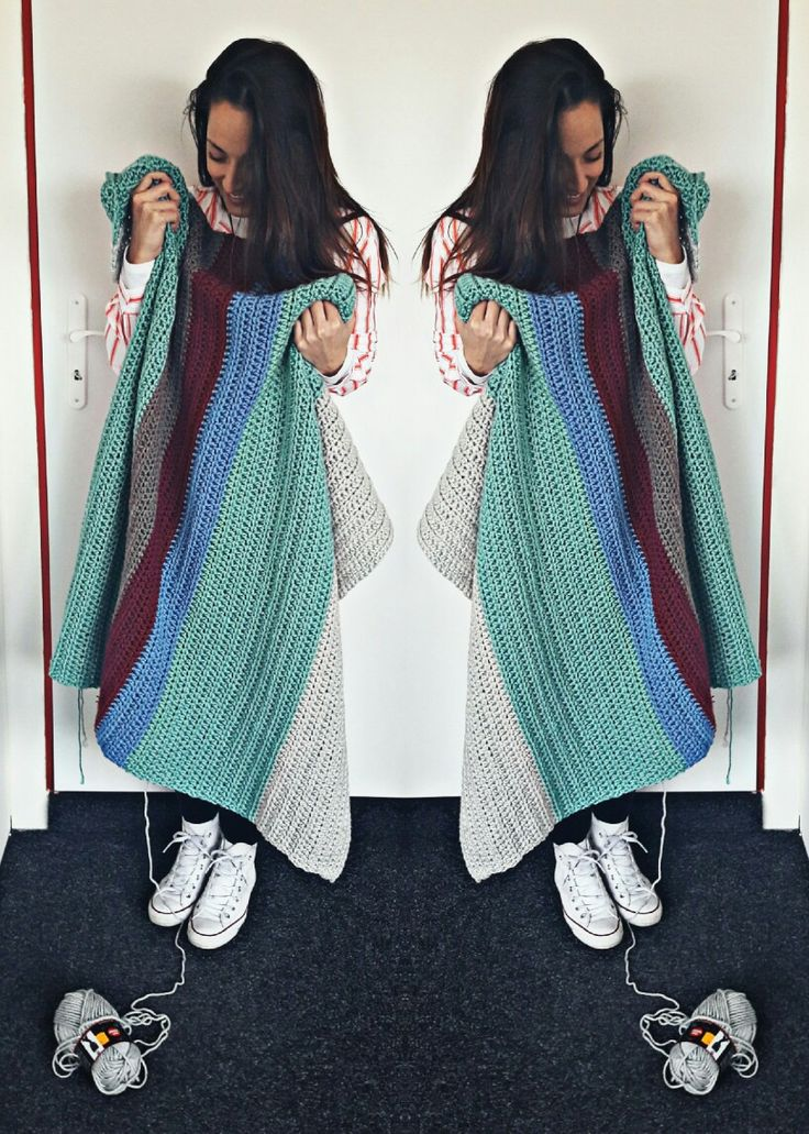 Blanket for every day #handmade #soay #crochet #blanket