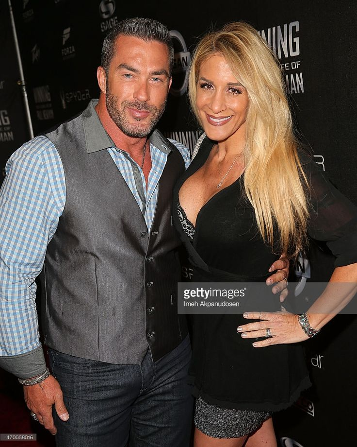 Television personalities Skip Bedell (L) and Alison Bedell attend the charity screening of 'WINNING: The Racing Life Of Paul Newman' at the El Capitan Theatre on April 16, 2015 in Hollywood, California.