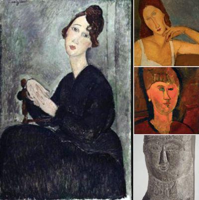 """#MODIGLIANI ALLA GAM DI TORINO - Alla Galleria d'Arte Moderna di Torino continua la mostra """"Modigliani e la Bohème di Parigi"""" fino al 12 luglio"""