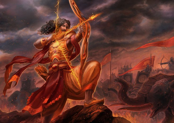 Karna - Maha Yodha by jubjubjedi.deviantart.com on @deviantART