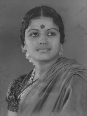 """M. S. Subbulashmi (16 September 1916 – 11 December 2004) was the first musician ever to be awarded the Bharat Ratna, India's highest civilian honor and the first Indian musician to receive the Ramon Magsaysay award.  Prime Minister Jawaharlal Nehru had this to say about M.S. Subbulakshmi- """"Who am I, a mere Prime Minister before a Queen, a Queen of Music"""""""