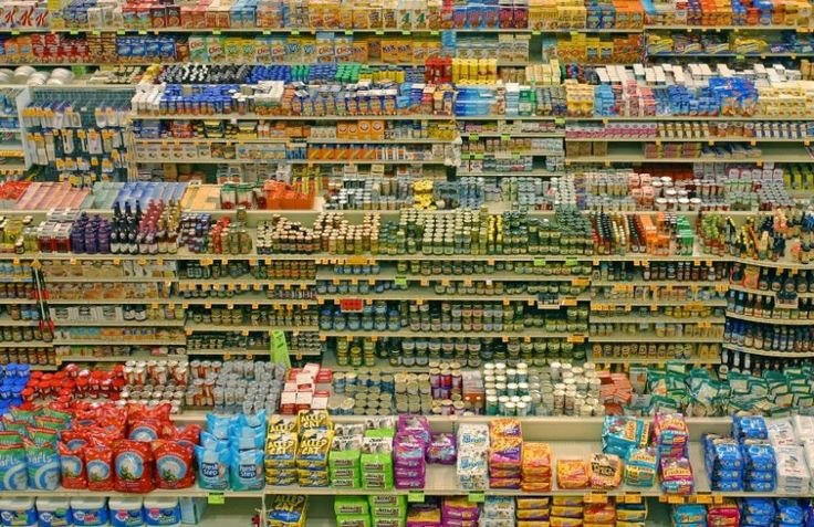 Život se supermarkety - boj o místo v regálu
