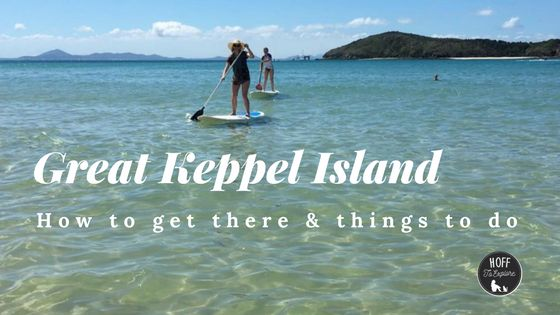 Day trip to Great Keppel Island in Queensland, Australia including how to get there and things to do
