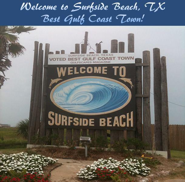 SURFSIDE BEACH, TEXAS - VOTED BEST GULF COAST TOWN!