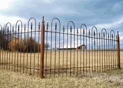 Best 25 Wrought Iron Fence Panels Ideas On Pinterest