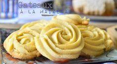 Gâteaux secs fondants à la Maïzena De délicieux gâteaux secs fondant à souhait à la maïzena que n...