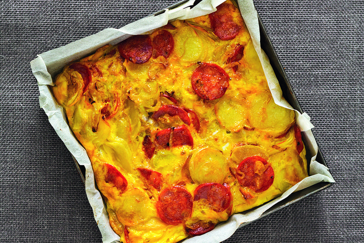 Tortilla piccante di patate