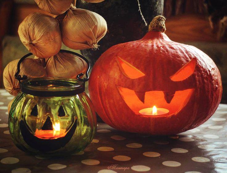 Halloween 2015. My vampire Jack-o-lantern.