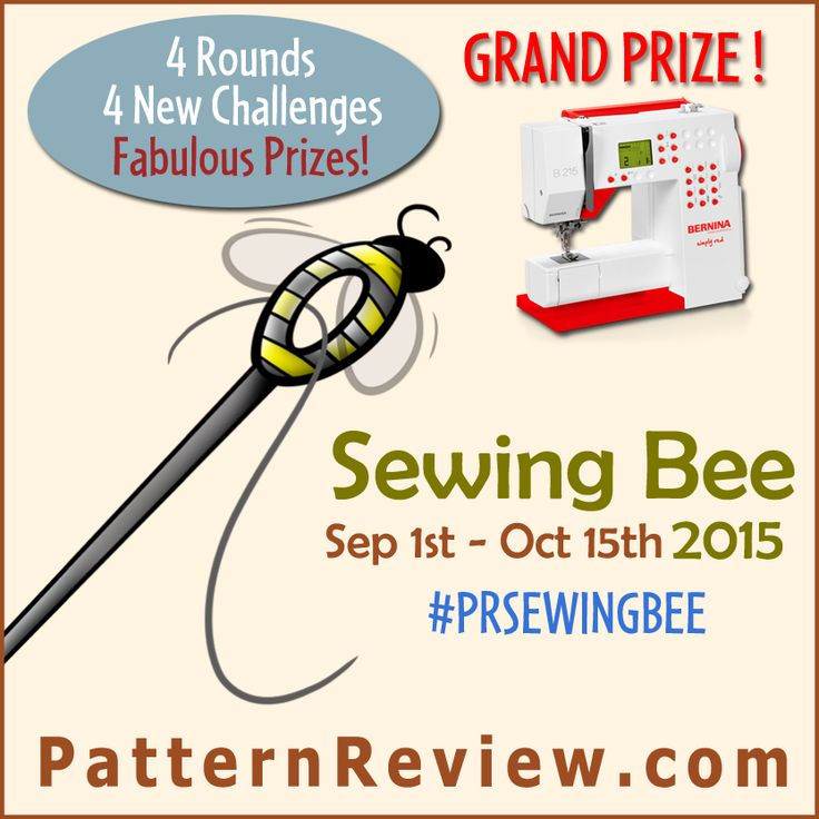 PatternReview Blog > Sewing Bee 2015 - Are you ready?