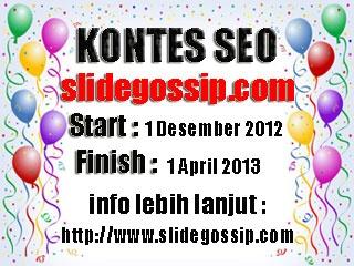 Slidegossip Contest Seo