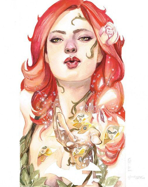 Poison Ivy by Garrie Gastonny and Elfandiary