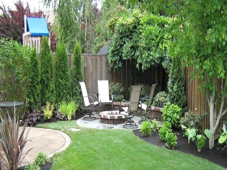 06 Fabulous Small Backyard Landscaping Ideas #LandscapingIdeas