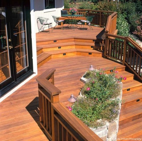 Continuous 2x6 Top With 2x4 Balusters Garden Ideas