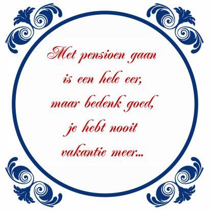 Tegelkaart Pensioen VUT, verkrijgbaar bij #kaartje2go voor €1,89