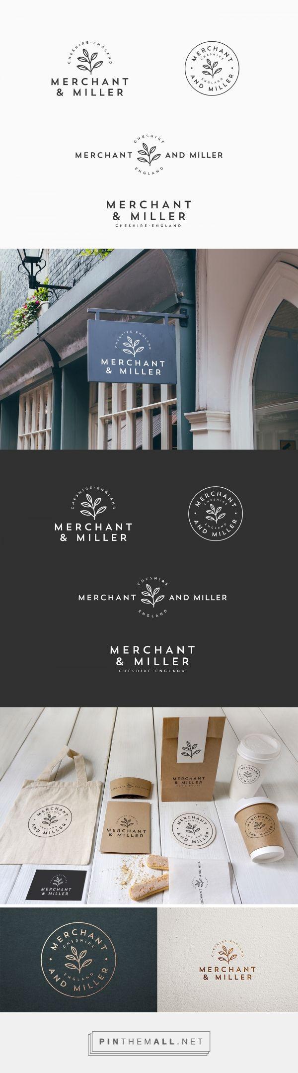 Merchant & Miller Logo by Ceren Burcu Turkan | Fivestar Branding Agency – Design and Branding Agency & Curated Inspiration Gallery #logo #logoinspirations
