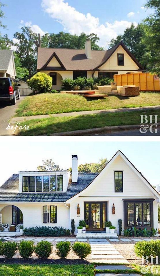 Merveilleux 12 Amazingly Wonderful Exterior Home Makeovers