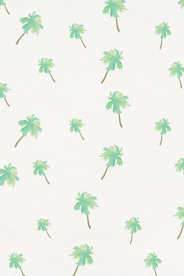 Free desktop, tablet, and phone wallpaper. Summer calls for loose waves, sun-kissed skin, towels, sandals, and... palm trees. Make the summer complete with the cutest wallpaper as your background!  Click & Save this free wallpaper, created especially for all our beautiful Ruchettes!