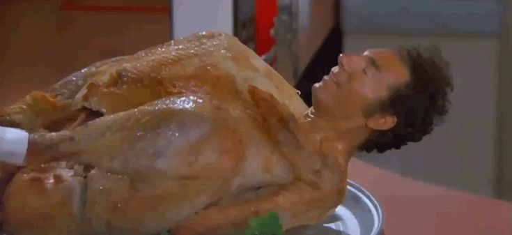 Kramer Turkey GIF Hi Buddy | CraveTV GIF - Find & Share on GIPHY