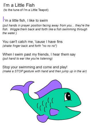 9 best beach storytime images on pinterest flannel for Fish songs for preschoolers