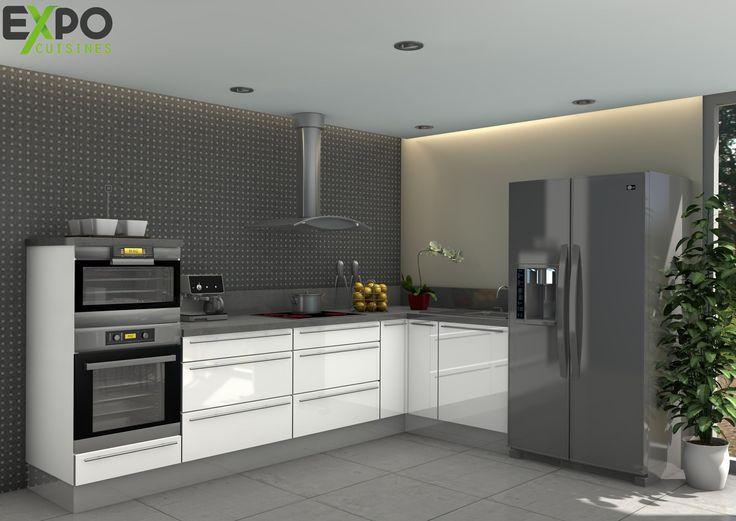 les 25 meilleures id es de la cat gorie colonne cuisine sur pinterest colonne de rangement. Black Bedroom Furniture Sets. Home Design Ideas