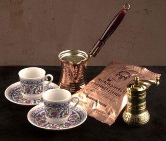 Turkse Koffie   Zelf Turkse koffie maken