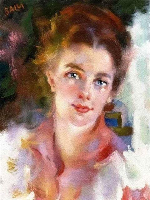 Giacomo Balla - Fanciulla iridescente, 1940