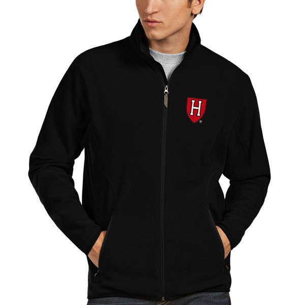 Harvard Crimson Antigua Ice Full-Zip Jacket - Black - $69.99
