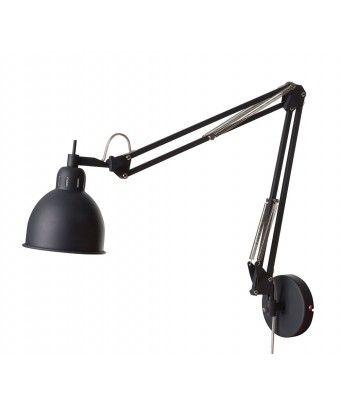 Metalowa lampa ścienna Job